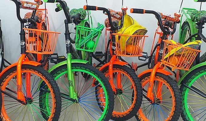 Розничная и оптовая продажа велосипедов, самокатов и аксессуаров