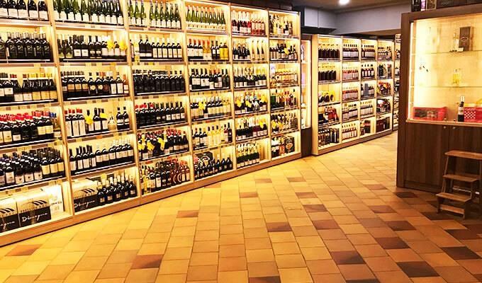 Магазин премиального алкоголя в центре Москвы