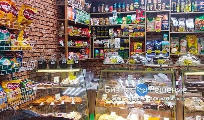 Магазин-кафе в ТРЦ метро Новогиреево