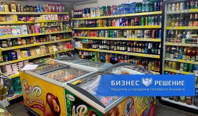 Магазин продуктов в жилом доме