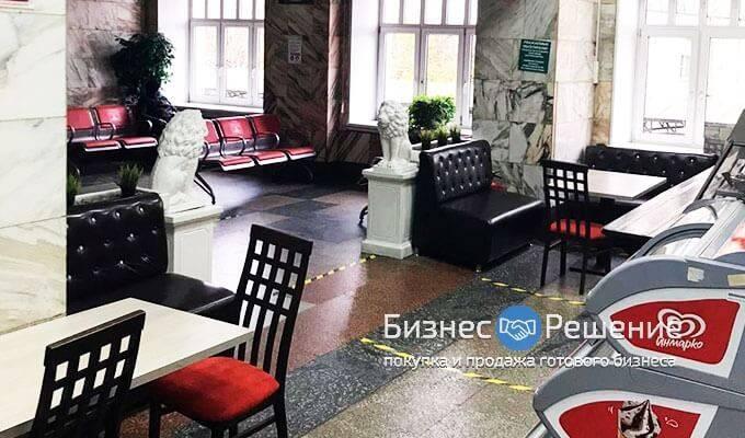 Буфет-столовая на территории ж/д вокзала