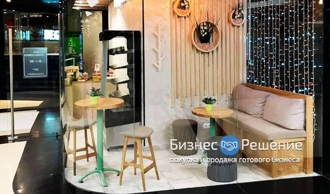 Кофейня в крупнейшем БЦ Москва Сити