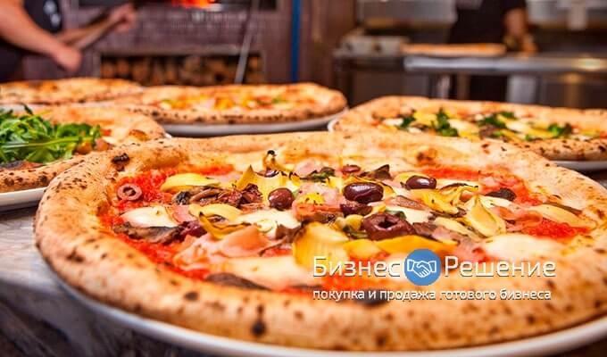 Продуктовый магазин + пекарня + кафе + пиццерия