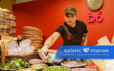 Кафе вьетнамской кухни в Москва-Сити