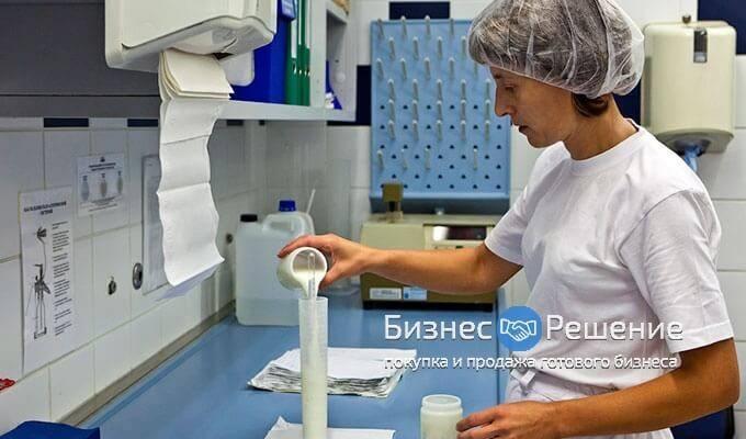 Молочный завод с высокой прибылью