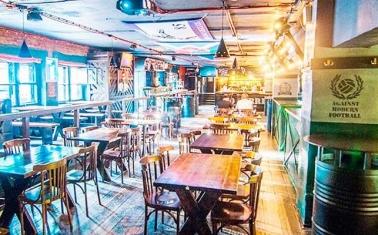 Ресторан-паб в лондонском стиле