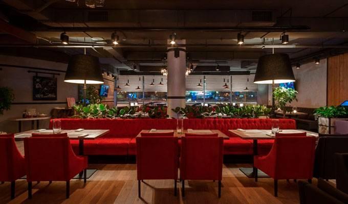 Шикарный ресторан с алко лицензией