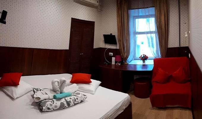 Уютный мини-отель недалеко от центра Москвы