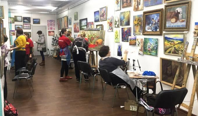 Популярная школа рисования в центре Москвы