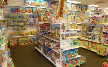 Перспективный магазин детских игрушек, в ТЦ