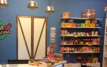 Магазин европейских сладостей в центре Москвы