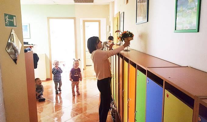 Частный детский сад с базой постоянных клиентов