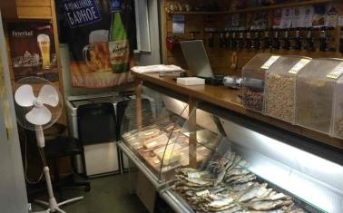 Магазин разливного пива и рыбы на Соколе