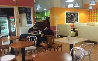 Перспективное кафе-столовая в БЦ. Беговая