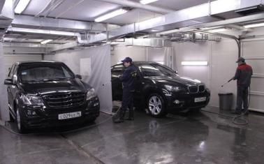 Автомойка, шиномонтаж и кафе в Кузьминках