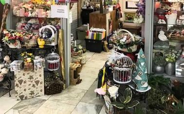 Цветочный магазин вблизи метро Тёплый Стан