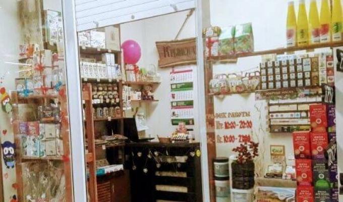 Рентабельный магазин натуральной косметики в ТЦ