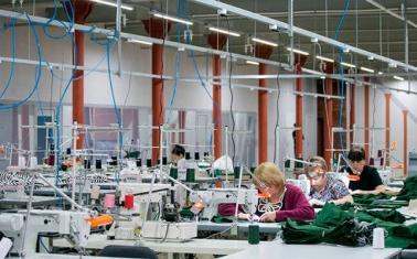 Текстильная фабрика с сетью розничных магазинов