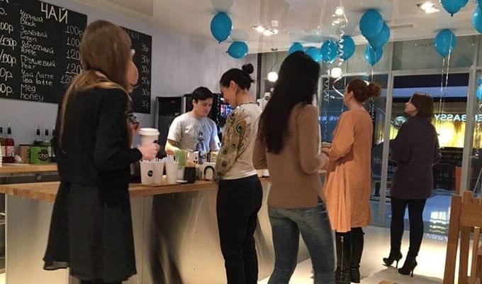 Скандинавская кофейня в БЦ на Юге