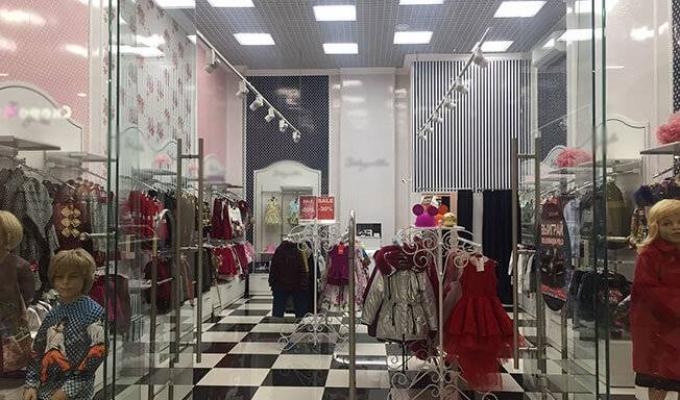 Магазин детской одежды, часть известной франшизы