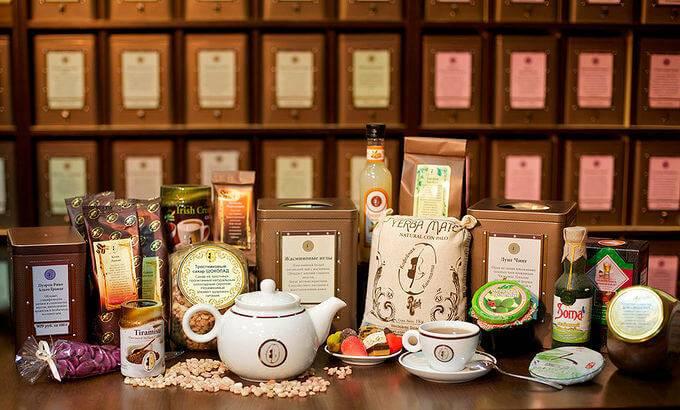 Магазин подарки чай кофе